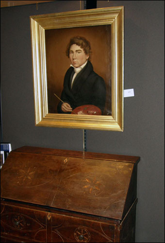 Keno Inaugural Auction May 1-2, 2010 - William Matthew Prior Self Portrait when he was 19, October 12, 1825 brought $47,600