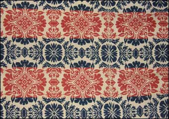 Jacquard Loom - Wise coverlet, December 13, 1836