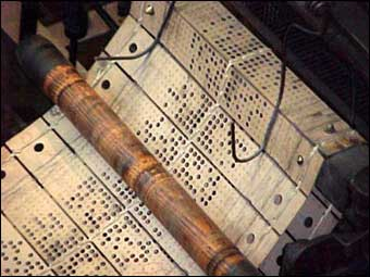 Jacquard Loom - Punch cards