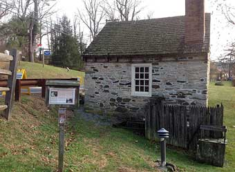 Two Colonial Gems, John Chads House and the Barns-Brinton House - Spring House at the John Chads House, 2013