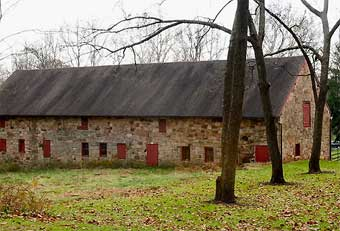 Furnace Plantation - Iron Foundry Stone Barn Stable 3, photo courtesy of Jeff Martin<br>