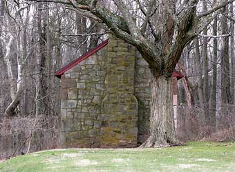 Furnace Plantation - Coleman kitchen, photo courtesy of Jeff Martin<br>