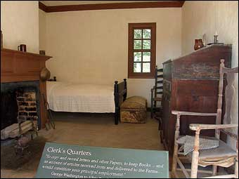 Mount Vernon's South Lane - Clerk's Quarters at Mount Vernon
