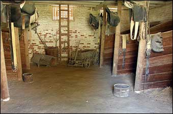 Mount Vernon's South Lane - Stables at Mount Vernon