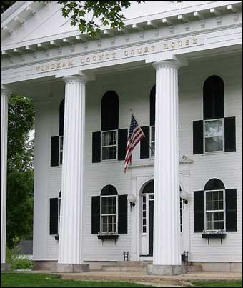 Newfane, VT Tour - Windham County Court House