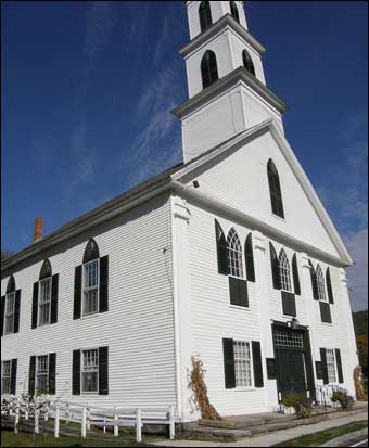 Newfane, VT Tour - Newfane Congregational Church