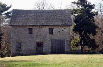 Christmas in Odessa Tour - David Wilson's 1812 Fieldstone Stable where green demonstrations were taking place