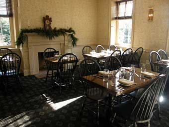 Christmas in Odessa Tour - Seating at Cantwell's Tavern Restaurant