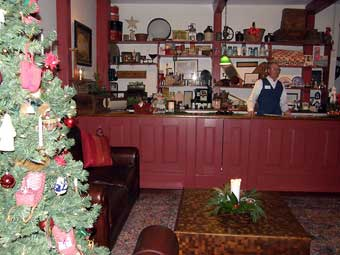 Christmas in Odessa Tour - Interior of the Davis Store built in 1824