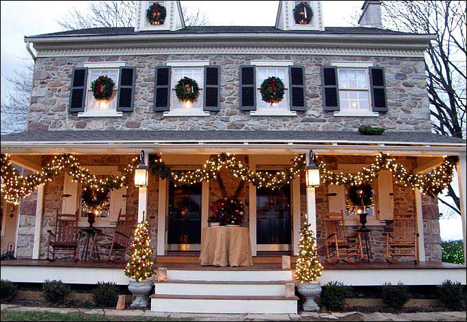 Oley Valley 2011 Holiday House Tour - Home of Cory and Jeanne DeLancey