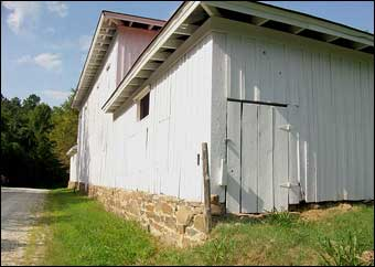 Stagville, NC - The Great Barn built in 1860