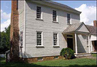 Stagville, NC - The Richard Bennehan House (built in 1787, enlarged in 1799)