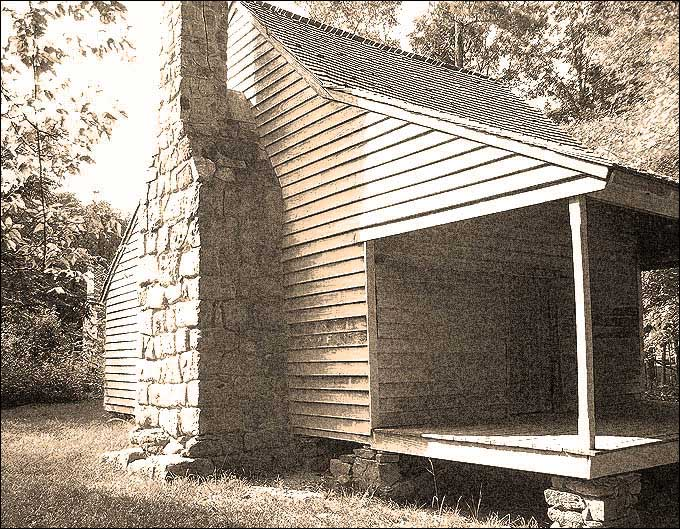 Stagville, NC - WIlliam Horton Home built before the Revolutionary War
