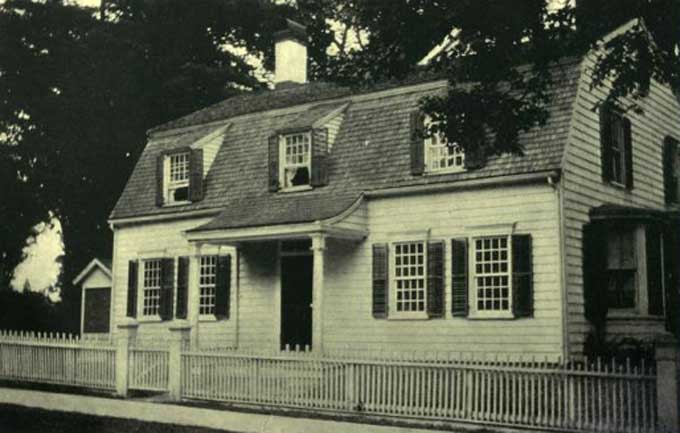 Colonial Sense Architecture Houses The White Pine