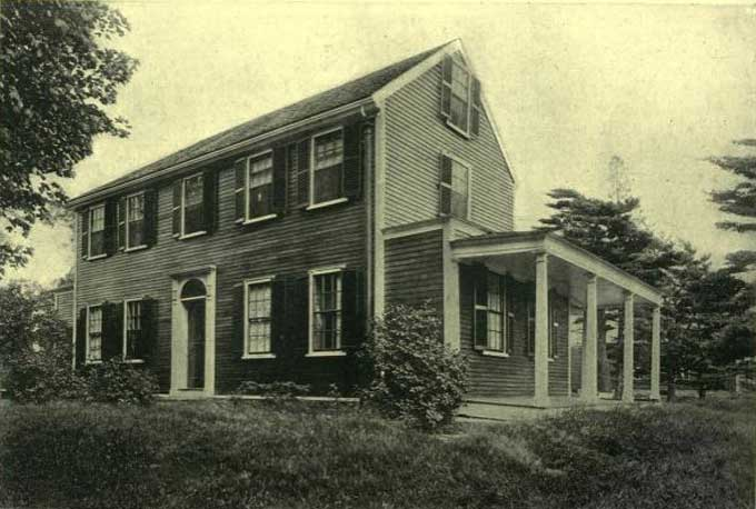 how were houses built in the 1800s