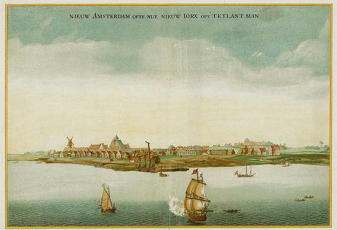 Journal of Jasper Danckaerts - New Amsterdam now New York on the Island of Manhattan 1650-53