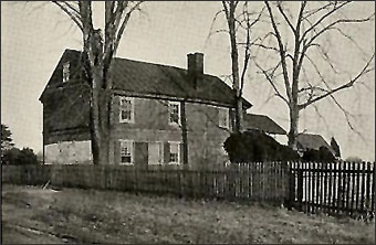 Woolman's Journal - John Woolman house built for Mary in 1771