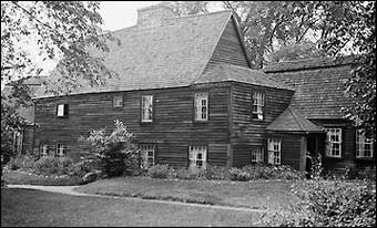 Clapboard Siding - Fairbanks House, Dedham Massachusetts