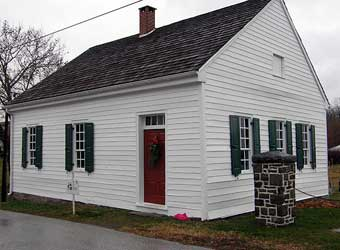 Barring Out - The one room schoolhouse in East Berlin, Pennsylvania