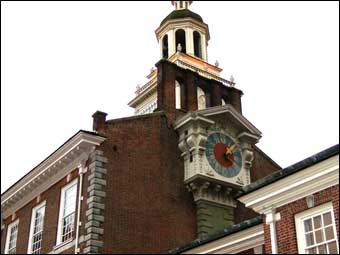 Independence Day - State House now known as Independence Hall, Philadelphia