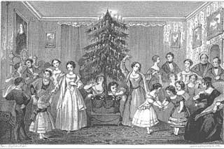 First Christmas Tree in America Picture