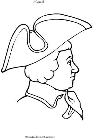 colonists coloring pages | Colonial Sense: Society-Lifestyle: Kolonial Kids: Coloring ...