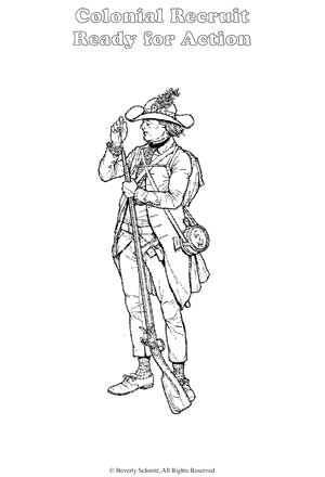 Coloring Pages Online on Paul Revere Coloring Pages    Online Coloring