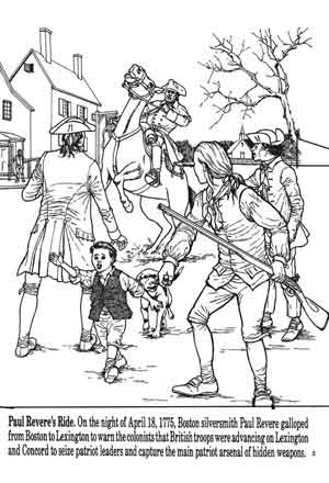 colonists coloring pages | Colonial Man Coloring Coloring Pages