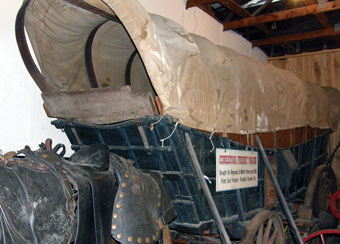 Conestoga Wagon - Conestoga wagon in the possession of Rough and Tumble Museum, Kinzers, PA