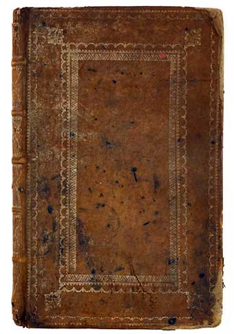 Tanning - Major General Anthony Wayne's tannery business account book which sold at Pook and Pook April 26, 2014 for $7,200